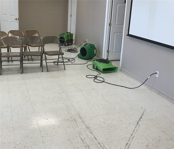 McMinn County Board of Education's Meeting Room And Lounge Faced Water Damage From A Storm